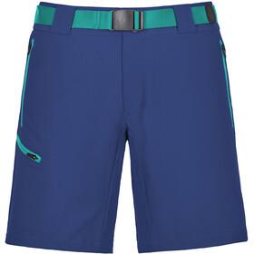 Ortovox W's Merino Shield Brenta Short Strong Blue